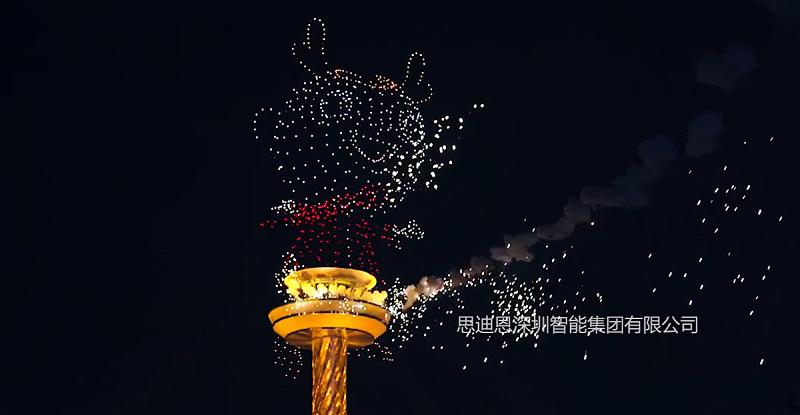 无人机灯光秀领爆城市亮化夜游经济-4
