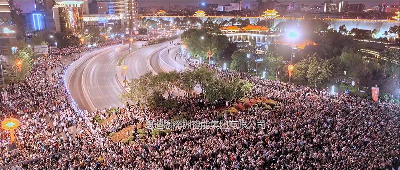 无人机灯光秀领爆城市亮化夜游经济-2