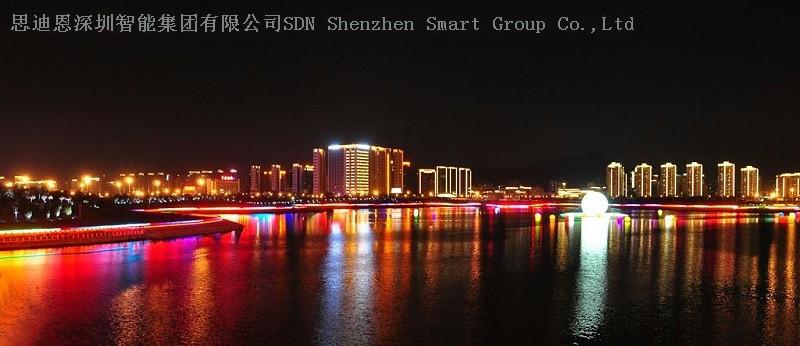 小镇夜游亮化商-思迪恩简述城市景观照明优化的依据