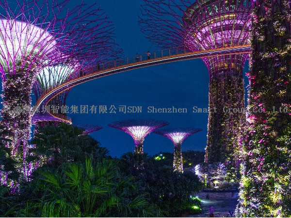 景区亮化-工程商*思迪恩简述青-岛市城市照明现状分析