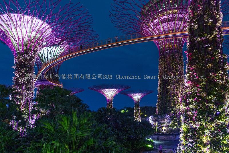 景区亮化工程商思迪恩简述青岛市城市照明现状分析