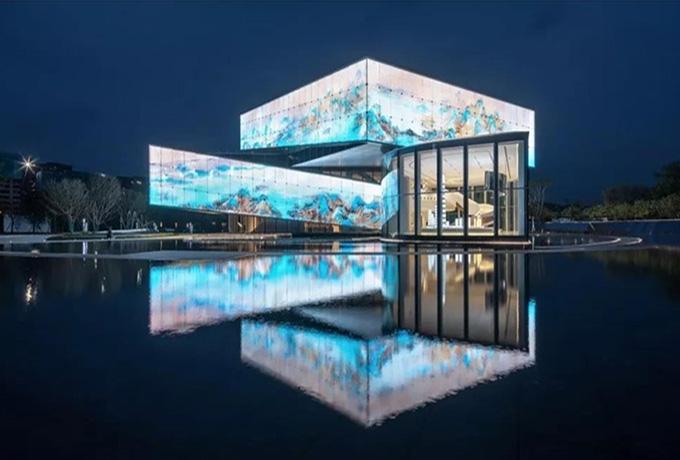 世茂之都一期及展示区建筑照明设计与楼体亮化成为深圳新名片-2