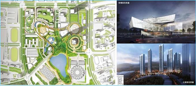 世茂之都一期及展示区建筑照明设计与楼体亮化成为深圳新名片-1