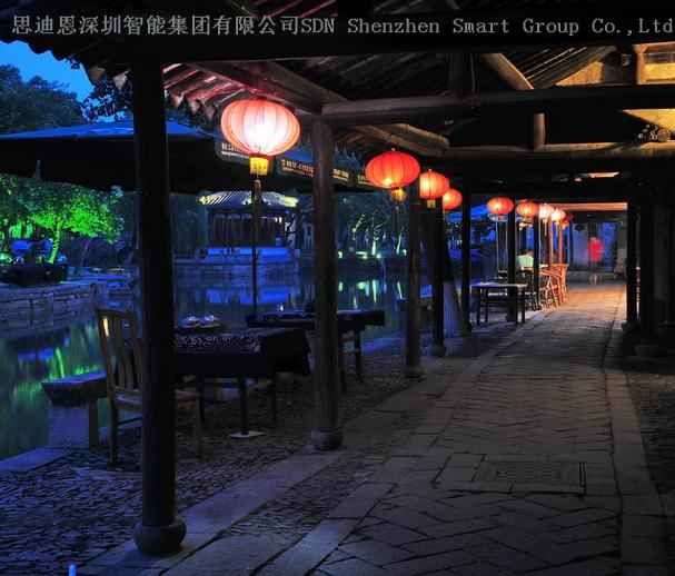 园区夜游亮化工程商思迪恩简述照明工程设计软件之完整的系统功能