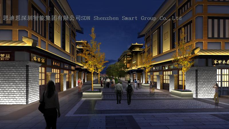 商业街夜游亮化工程思迪恩简述技术交底之技术交底的内容与方法(续)