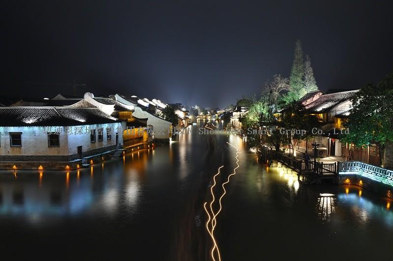 夜游亮化工程商思迪恩明晰城市照明框架体系