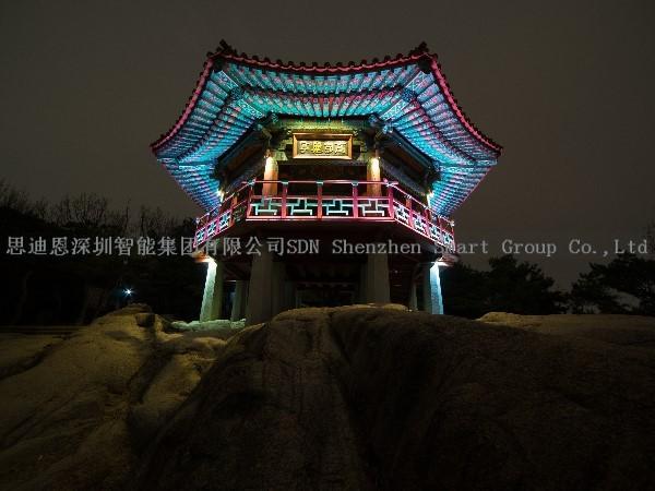 楼体亮化工程-商思迪恩简述照明设计之艺术照明设计(续2)
