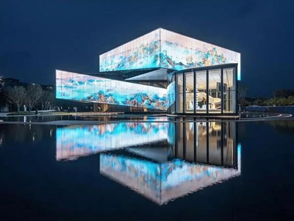 世茂之都一期及展示区建筑照明设计与楼体亮化成为深圳新名片