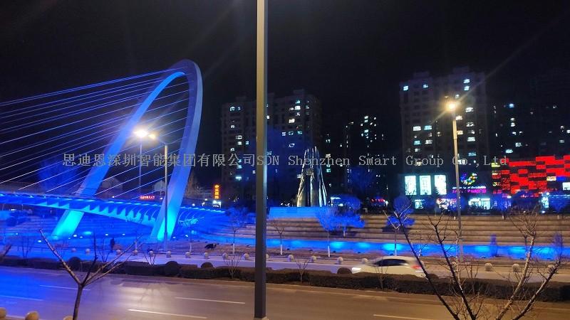 公园夜游亮化思迪恩简述办公建筑照明设计之公共空间照明设计