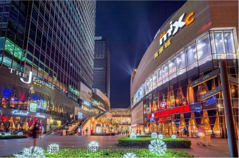 景观照明设计之商业中心灯具-2