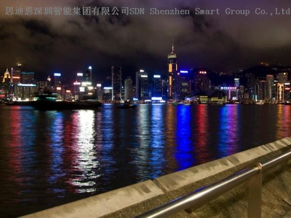 商圈夜游亮化商-思迪恩简述城市功能照明设计优化之优用电子镇流器