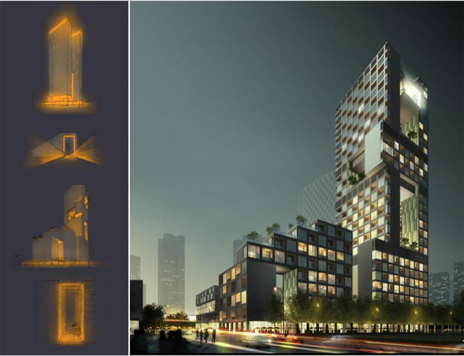 深圳帼际艺展艺术小镇灯光设计与照明工程终获帼际奖-4