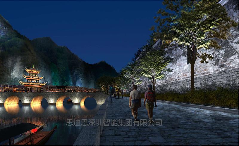 景观照明总体规划之结合城市特色-2