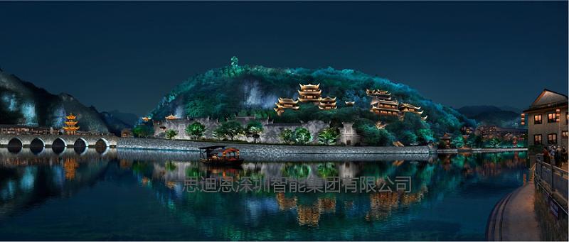 景观照明总体规划之结合城市特色-1