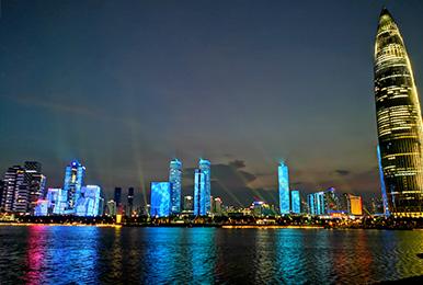 城市城区照明亮化设计