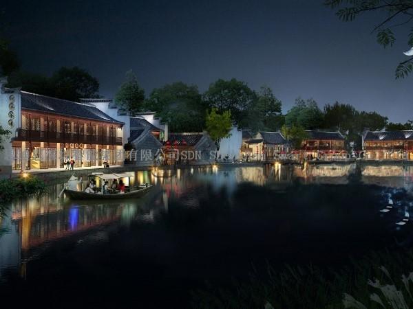 景区亮化工程商思迪恩明晰城市形象区域(续3)