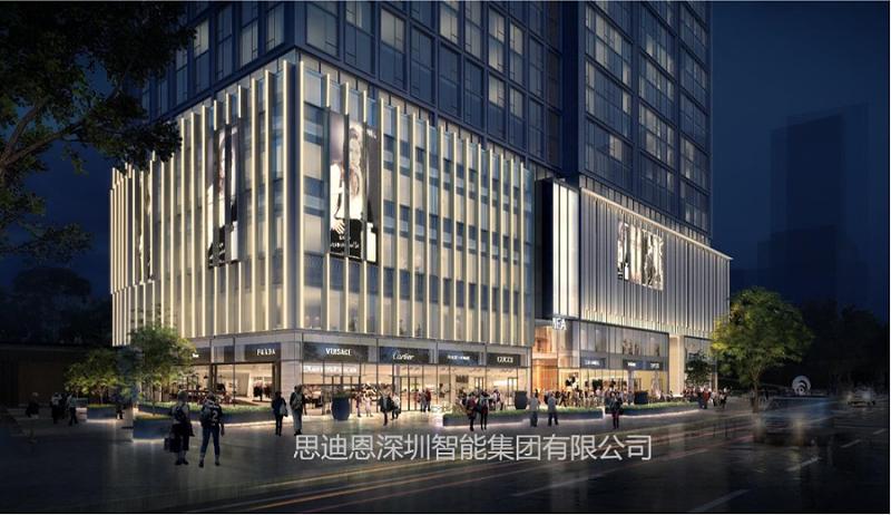 景观照明设计之商业中心广告-2
