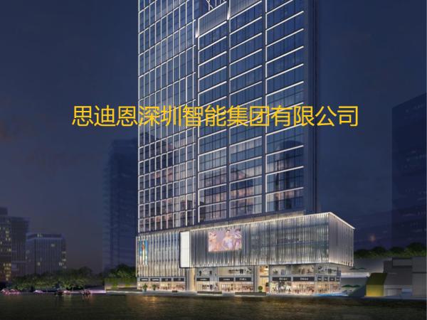 景观照明设计之商业中心广告