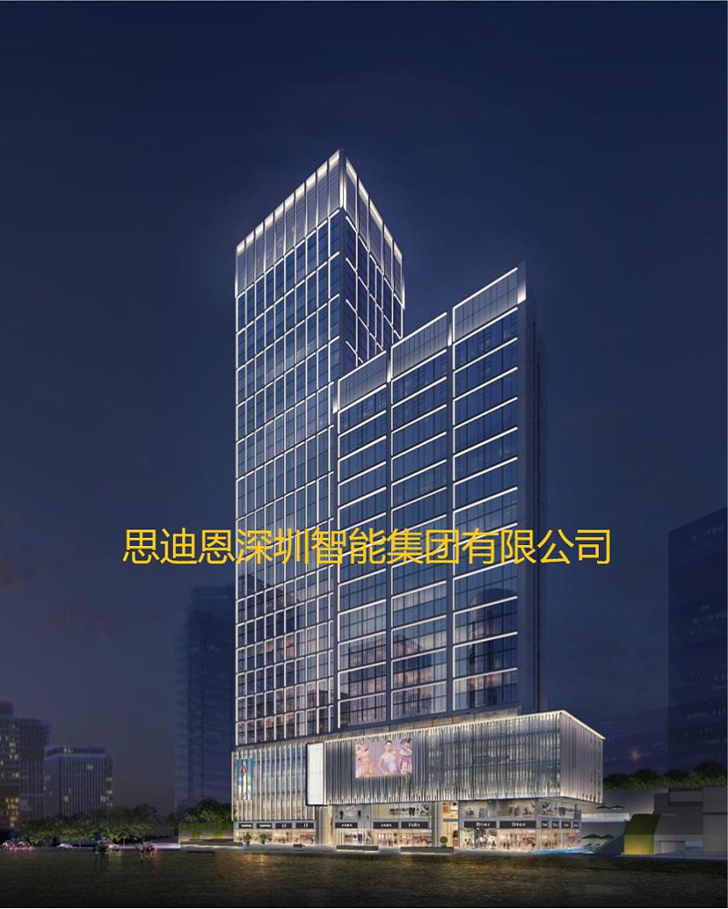 景观照明设计之商业中心广告-1