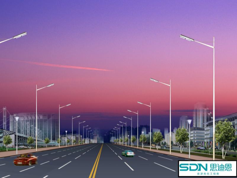 常见城市夜景灯光的灯具分类说明