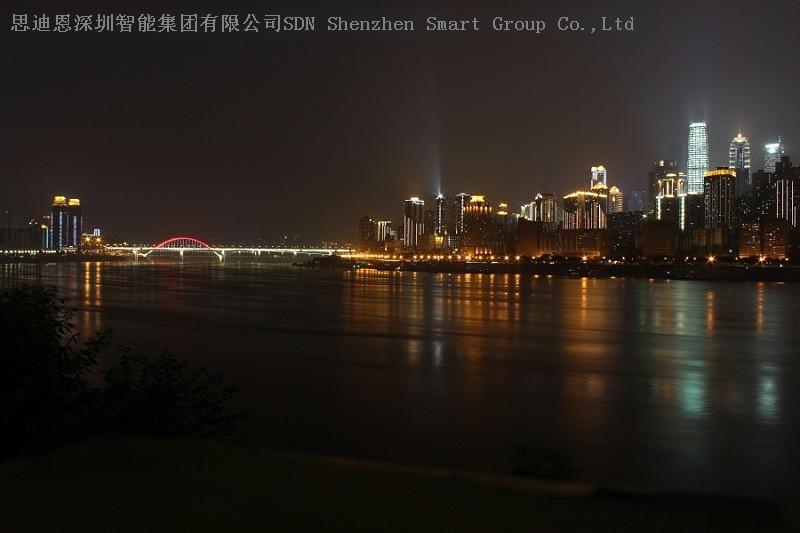 商圈夜游亮化商思迪恩简述绿地公园景观照明设计之环境气氛的创造