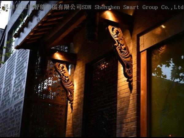 园区夜游亮化商-思迪恩简述建筑光-源之金属卤化物气体放电光-源