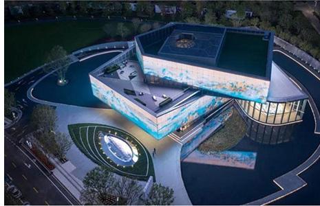 世茂之都一期及展示区建筑照明设计与楼体亮化成为深圳新名片-5