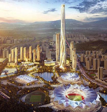 世茂之都一期及展示区建筑照明设计与楼体亮化成为深圳新名片-6