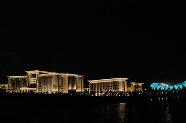 揭密一些政务楼体照明设计与亮化工程-1