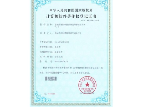 思迪恩夜游亮化照明设计工程商软著证书