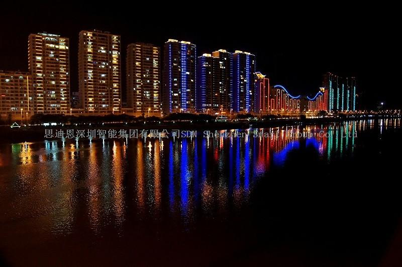 古镇夜游亮化-思迪恩简述宾馆建筑照明设计之光源选择