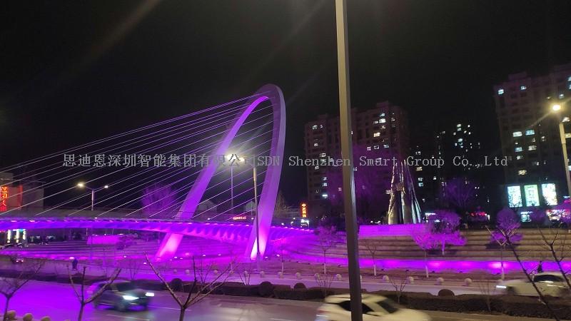 城市夜游亮化思迪恩简述室外场所的照明要求之广场(续)