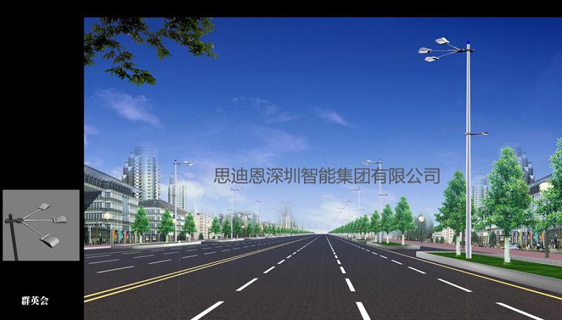 景观照明设计之街道夜景观构成要素-1