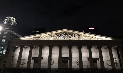 五月广场圣马丁大教堂-思迪恩光秀
