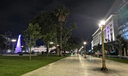 五月广场南侧人行道-思迪恩光秀