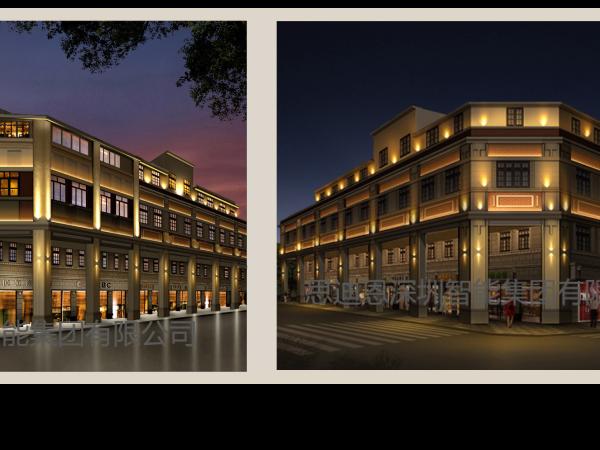 思迪恩景观照明,建筑物照明,亮化照明工程之建筑物照明