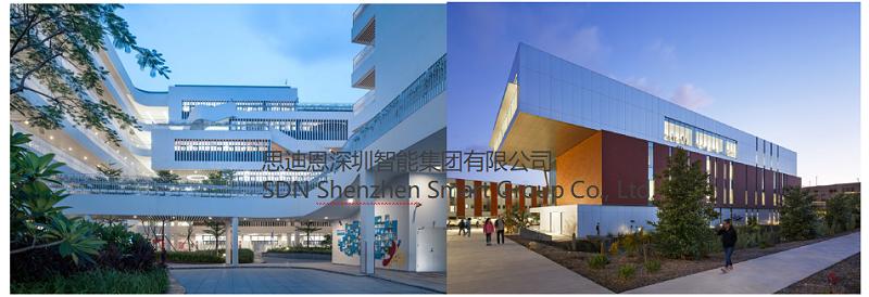 广州爱莎国际学校景观照明与楼体亮化设计概念方案领秀(一)-5