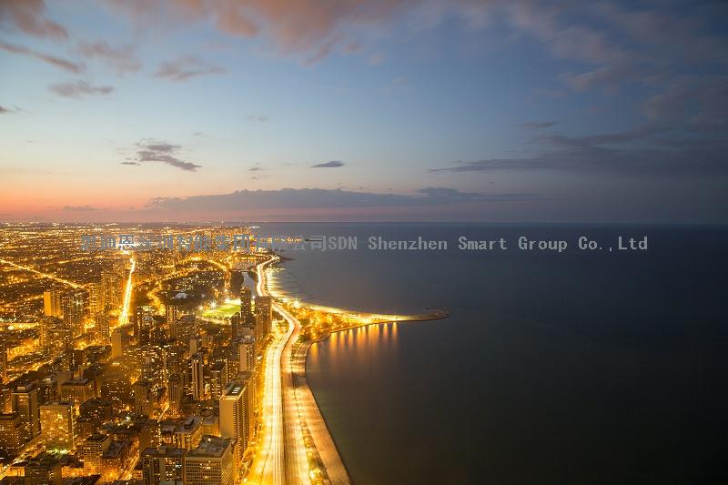 夜游亮化工程公司思迪恩简述城市照明总体规划的作用与意义