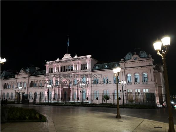 思迪恩人再次出师阿根廷景区景观亮化设计工程提升项目