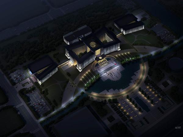 夜游亮化工程商在廣场照明亮化工程系统规划控制导则