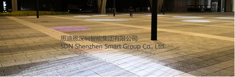 恭贺深圳艺术小镇泛光照明及亮化设计工程局部亮灯-3