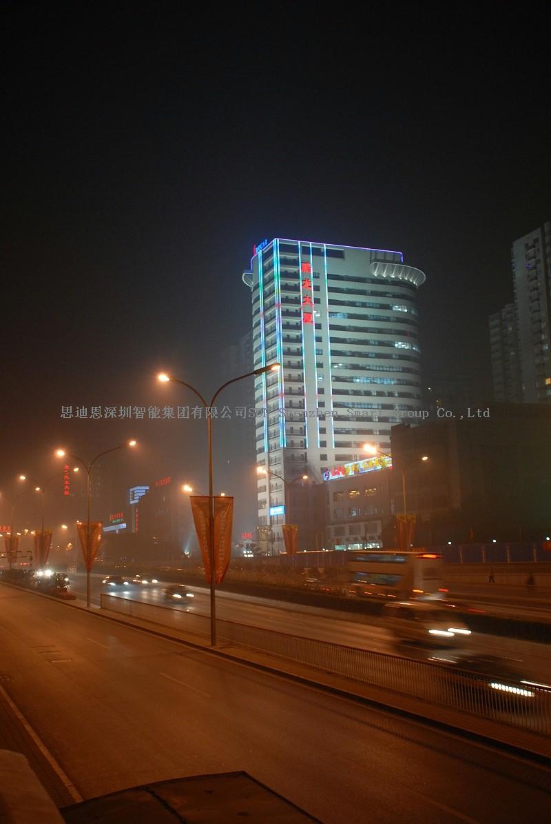 夜游亮化照明设计思迪恩简述照明测量之道路照明测量