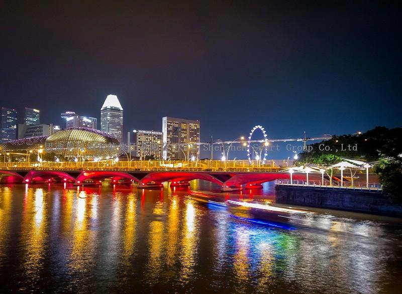 夜游亮化工程商思迪恩明晰城市照明框架构筑道路体系(续2)