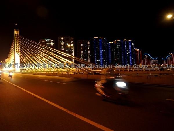 园区夜游亮化-思迪恩简述交通性道路的照明要求之路面亮度