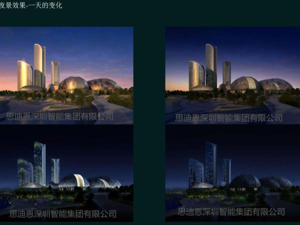 思迪恩景观照明总体规划之视点与成果
