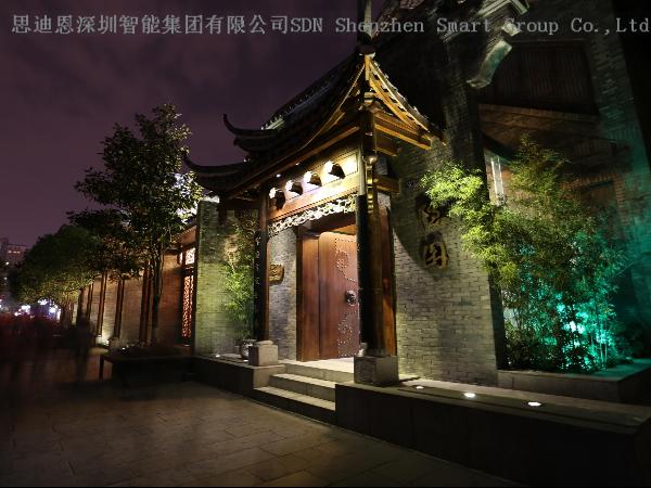 商业圈夜游亮化商-思迪恩简述城市景观照明优化的方法