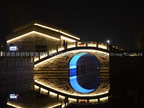 景区亮化工程商思迪恩简述城市照明总体规划要关注经济发展(续)
