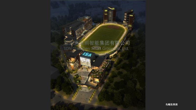 广州爱莎国际学校景观照明与楼体亮化设计概念方案领秀(二)-5