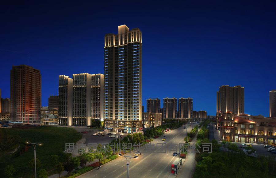 建筑物和楼体的一般照明方式