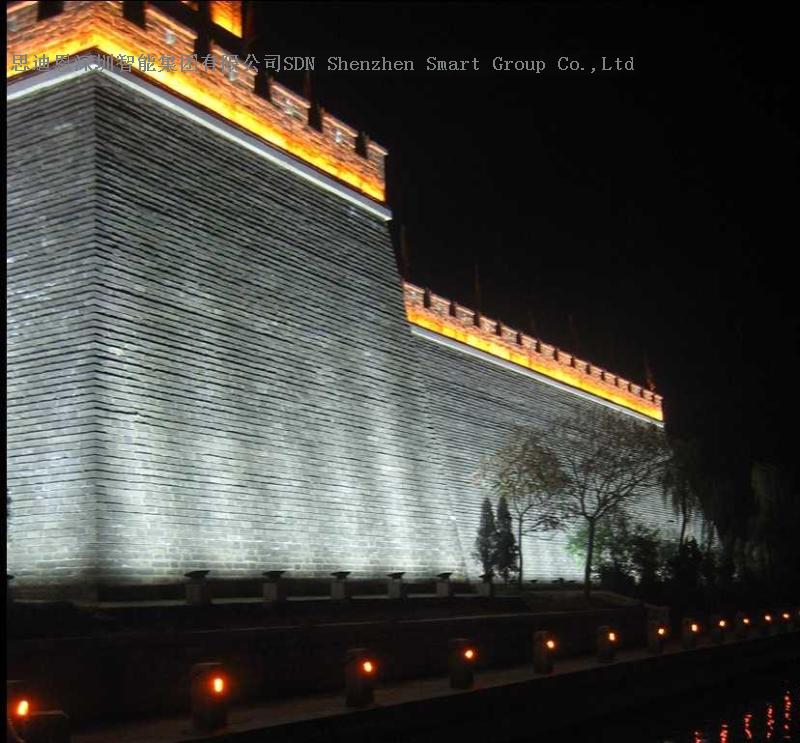 古城夜游亮化工程思迪恩简述照明线路的保护之剩余电流保护器